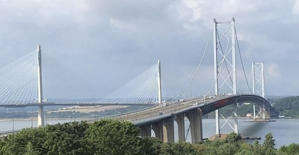 Die Hängebrücken über den Firth of Forth